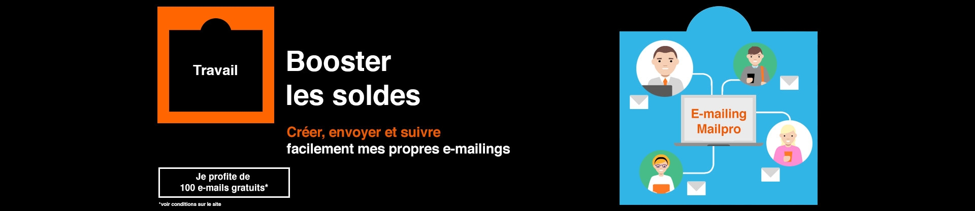 Envoyez des e-mailings avec Mailpro