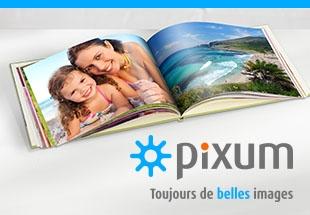 Réaliser et commander gratuitement votre Livre photo Pixum.