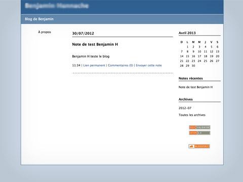 Blog Pro : interface la plus simple pour créer votre blog