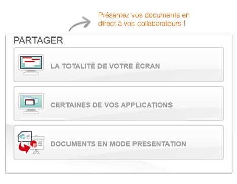 Arkadin : présentation des documents en direct à vos collaborateurs