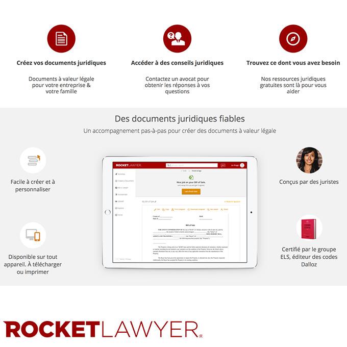 Visitez le site https://www.rocketlawyer.fr pour plus d'info.