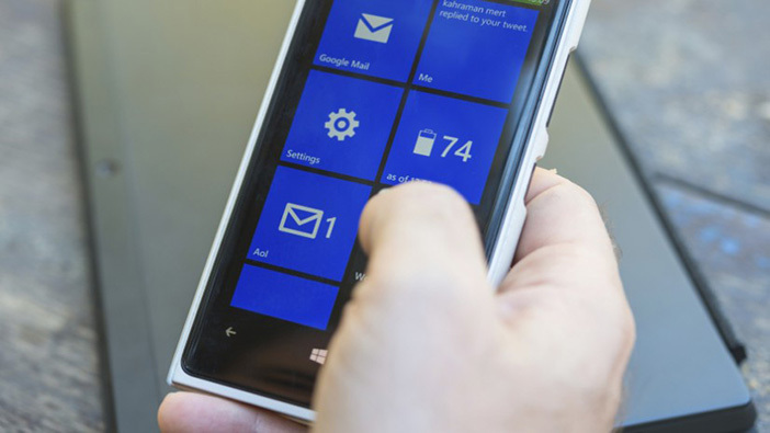 Configurer votre messagerie professionnelle sur Windows Phone 8